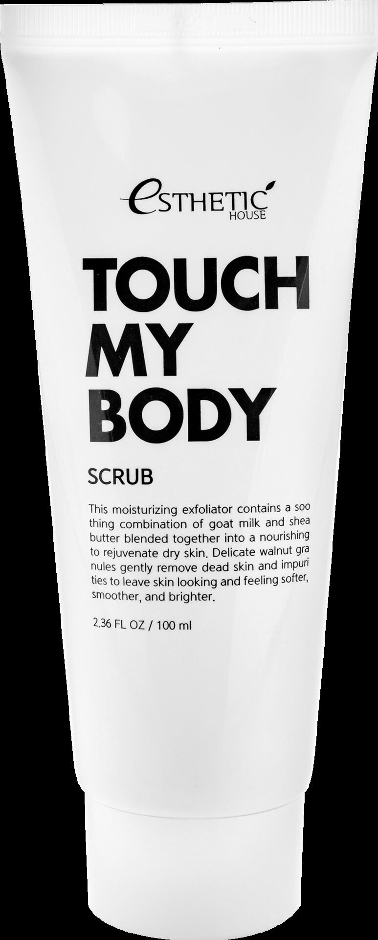 [ESTHETIC HOUSE] Скраб для тела КОЗЬЕ МОЛОКО Touch My Body Goat Milk Body Scrub, 100 м